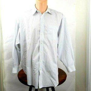 Jos.A.Bank Men's Shirt Sz 17 1/2-34 (LS111)